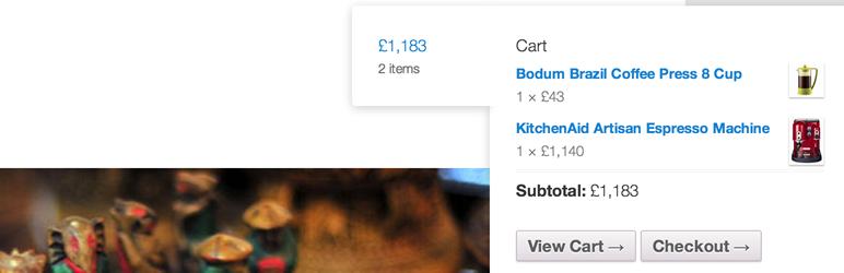 Woocommerce cart tab